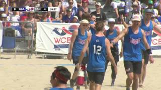 Sarah Meckstroth Huge Catch for Score - Mixed Final - WCBU 2017