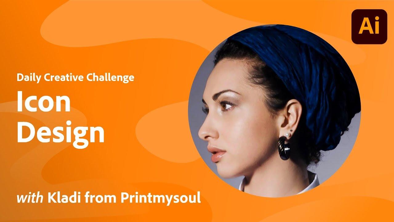 Illustrator Daily Creative Challenge - Icon Design