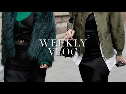 COME TO AUSTRALIAN FASHION WEEK WITH US! WEEKLY VLOG - TWICE BLESSED