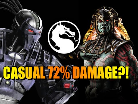 Just A Casual 72 PERCENT Combo: Smoke(Triborg) Mortal Kombat X - Online Ranked