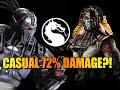 Just A Casual 72 PERCENT Combo: Smoke(Triborg) Mortal Kombat X - Online Ranked