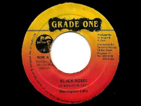 BARRINGTON LEVY - Black roses + roses dub (1983 grade one)