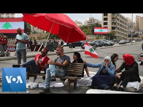 Lebanon Protesters Block Roads to Keep Revolt Alive