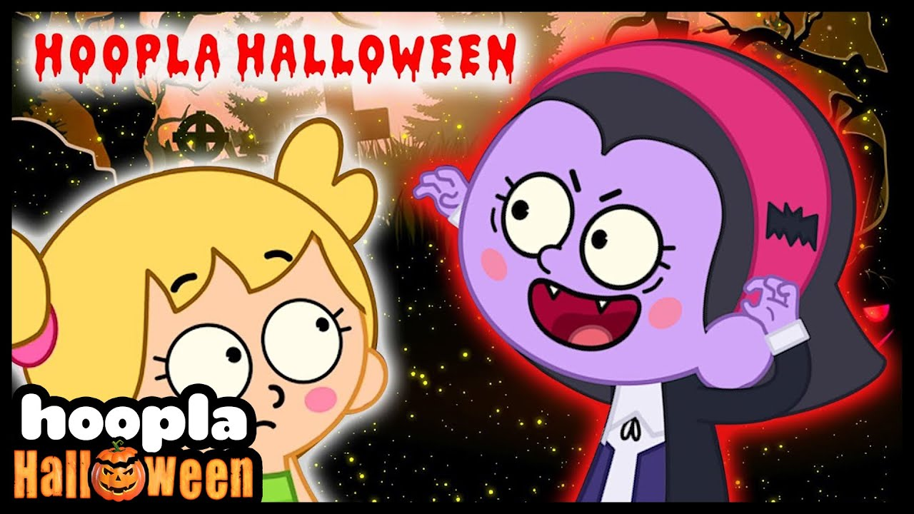 Hoopla Halloween Songs For Children | Nursery Rhymes & Kids Songs | Hoopla Halloween