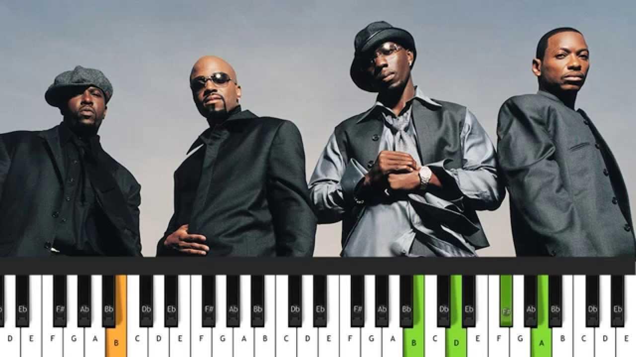 Blackstreet   No Diggity Piano Cover