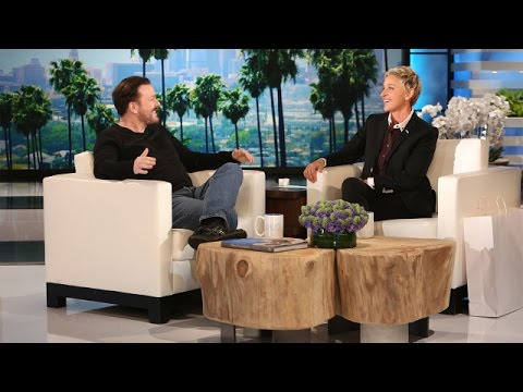Ricky Gervais on Returning to Host the Golden Globes