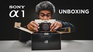 SONY ALPHA 1 UNBOXING (The a1 is finally here!)