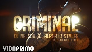 Смотреть клип Alberto Stylee X Dj Nelson - Criminal