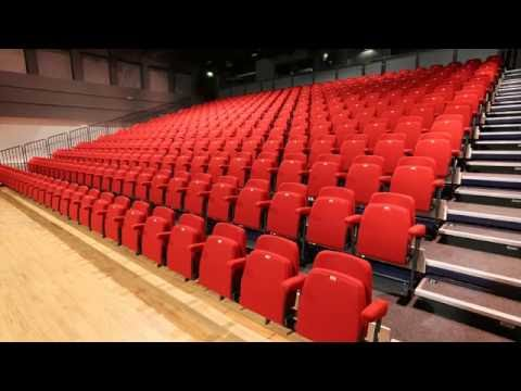 Camberley Theatre's new seats being installed -  brilliant time lapse!