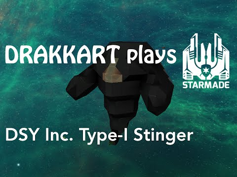 StarMade: Ship Release Discreet Shipyards Inc. Type-I Stinge