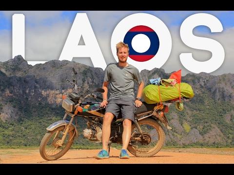 SABAIDEE LAOS - MOTORBIKE TRIP [Full Video]