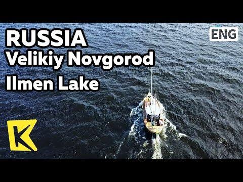 【K】Russia Travel-Velikiy Novgorod[러시아 여행-벨리키 노브고로드]일멘 호수/Ilmen Lake/Fishing boat