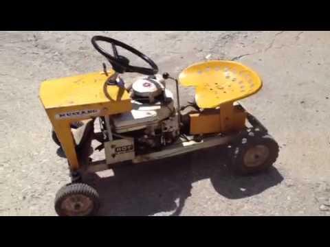 Mowett Mustang Mower Tractor Youtube