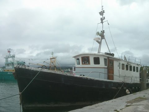 Warren Evans, ex Cardiff pilot boats, Barry winter boat, kelvin T8 diesel.