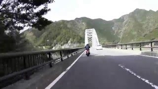 【125ccスクーター】国道169号 上北山村 ゐざさ寿司本店から南下