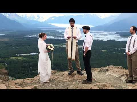 An Alaskan Wedding On Top Of The Butte