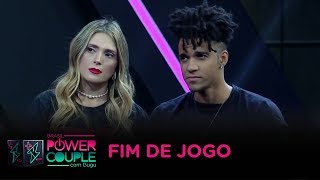 Nadja e D'Black são eliminados do Power Couple Brasil