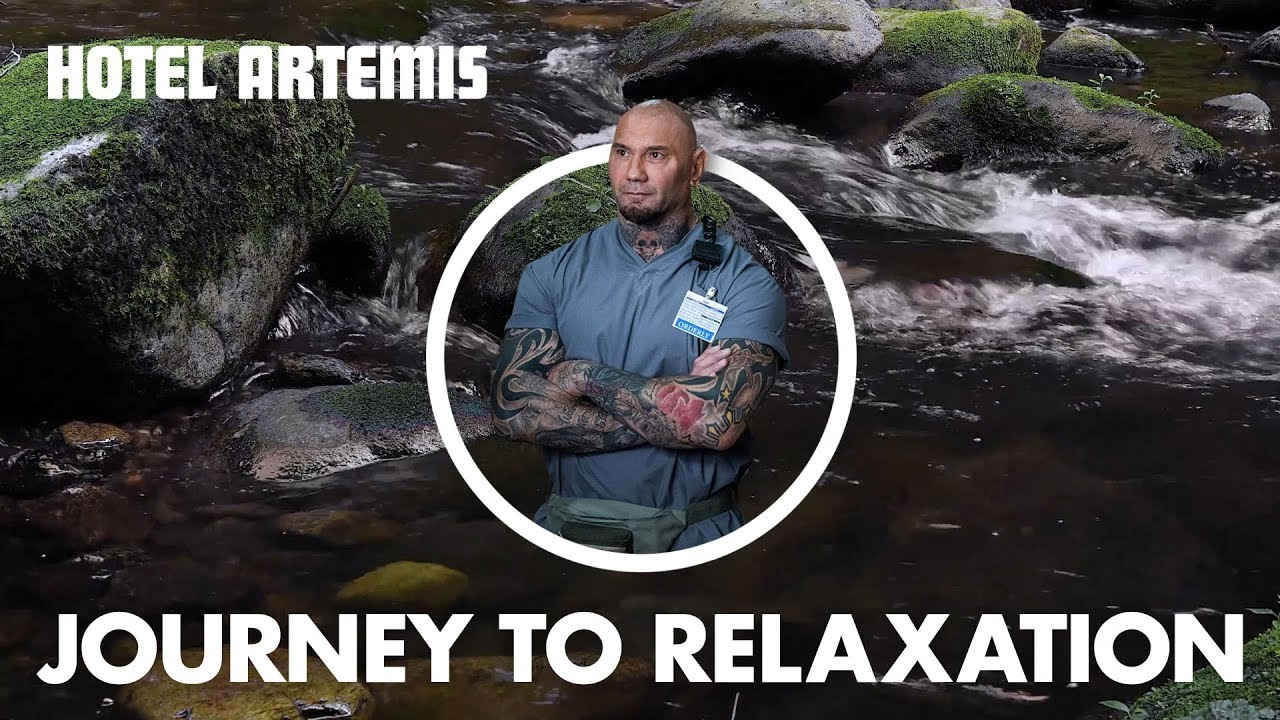 Hotel artemis a journey to relaxation with dave bautista for 4 design hotel artemis