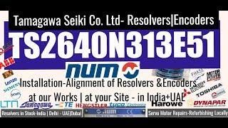 Tamagawa TS2640N313E51 TS 2640N313E51 TS2640 N313 E51 NUM India UAE Dubai Adjust Align Servo