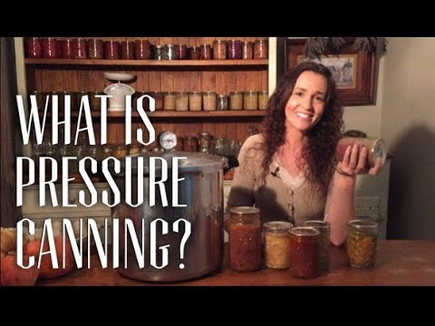 What is Pressure Canning & Why Can food?