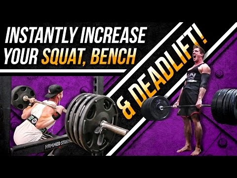 Add 20 30 Pounds To Your MAX BENCH, DEADLIFT & SQUAT! Assistance Lifts| NEW PRs IN 3 4 WEEKS!