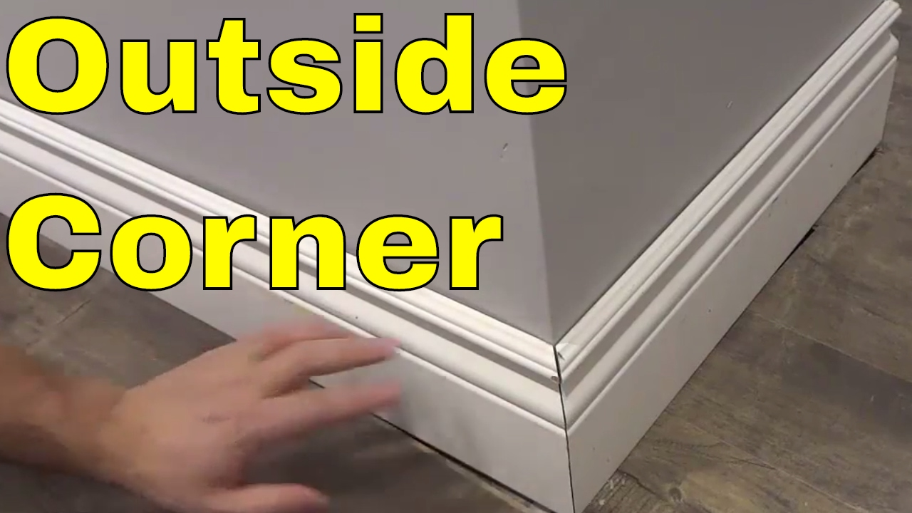 Outside Corner With Baseboard Easy Tutorial