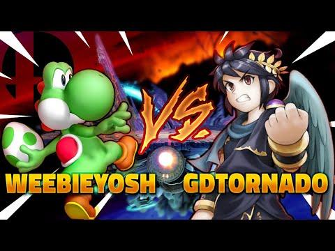 Smash Ultimate - Weebieyosh (Yoshi) Vs. GDtornado (Dark Pit)