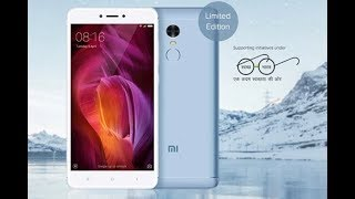 Limited Edition Xiaomi Redmi Note 4 (4GB RAM 64GB ROM) Lake Blue Unboxing and Hands on Review