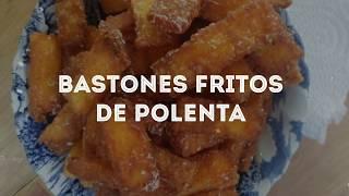 Bastones fritos de polenta