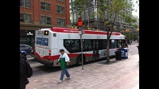 [Calgary Transit] #8205 on Route 4 - 2013 New Flyer XD40 Xcelsior