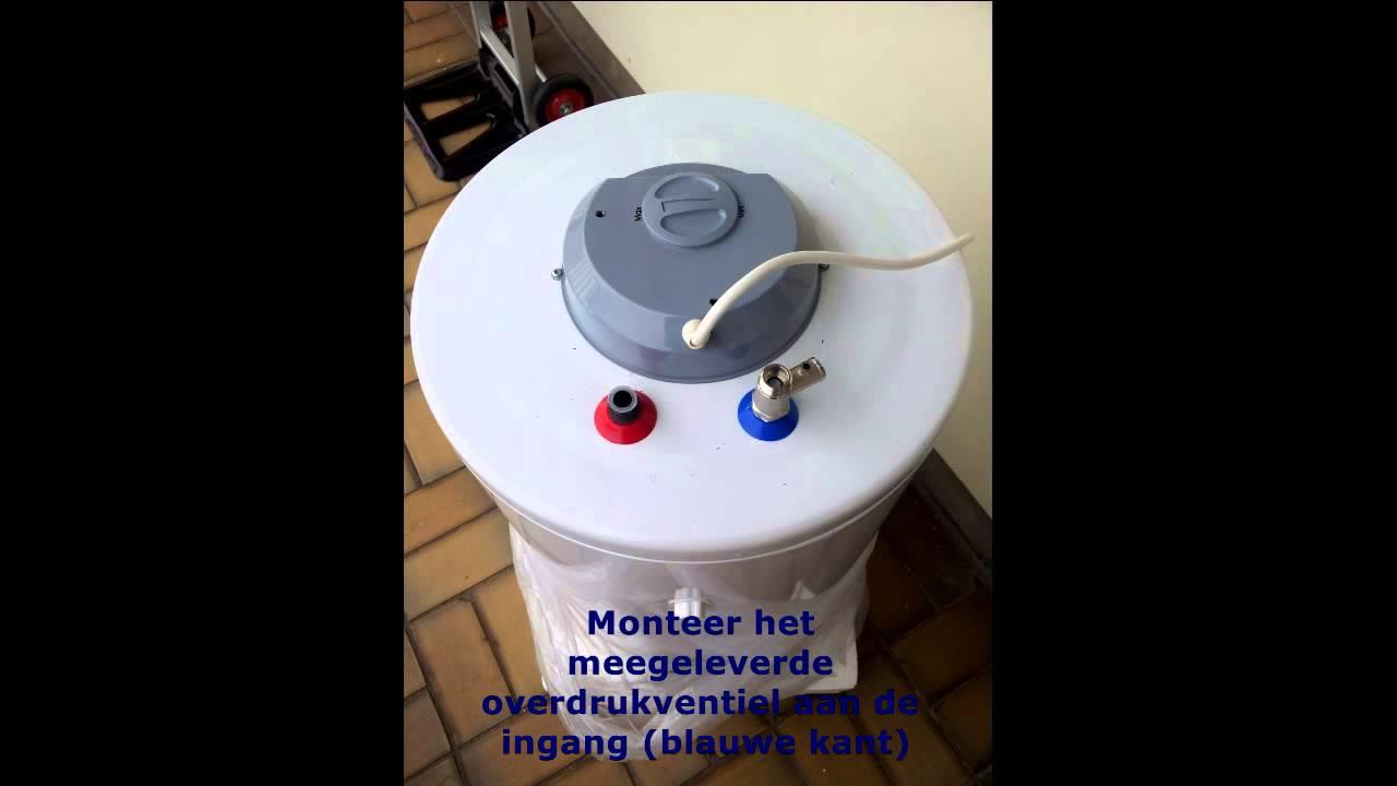 Verwijderen boiler en leiding rechtstreeks aansluiten op de cv
