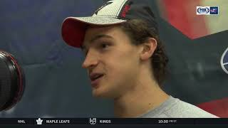 Jackets rookie Sonny Milano going through growing pains thumbnail