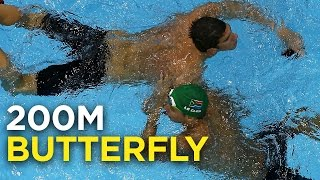 Michael Phelps vs. Chad Le Clos, the rivalry | 200M butterfly | Rio Olympics 2016