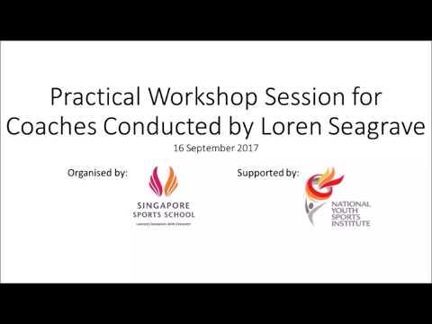 Loren Seagrave | Maximum Velocity Running Mechanics Practical Workshop for Coaches