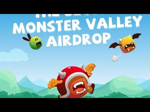 🔥Free Airdrop Crypto Gratis Terbaru Tanpa Gas Fee Monster Valley Round 2🔥END 24 AGUSTUS 2021🔥