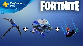 "COMMENT À GET NEW PLAYSTATION PLUS CELEBRATION PACK 3 GRATUITEMENT à Fortnite! ""PIOCHE DE CONTRÔLEUR"""