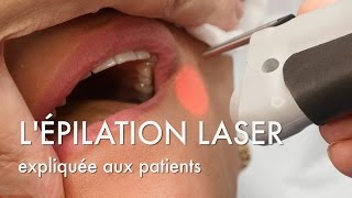 L'épilation laser expliquée au patients - Centre Marceau Paris