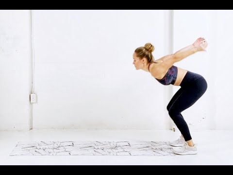 Bodyweight HIIT workout // 15 Minutes