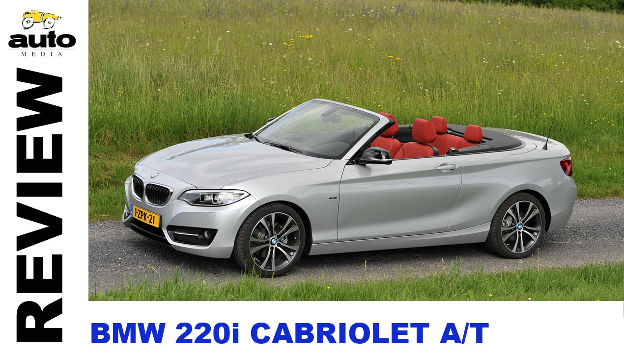 bmw 220i cabrio review 2015 youtube. Black Bedroom Furniture Sets. Home Design Ideas