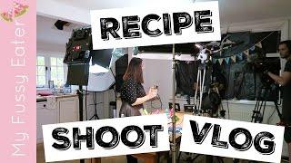ditl of a food blogger recipe shoot day