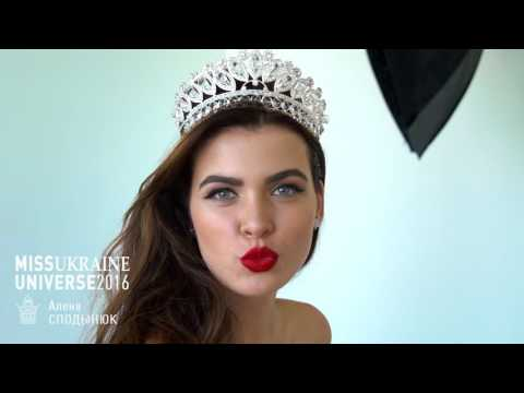 Miss Ukraine Universe 2016 Alena Spodynyuk promo