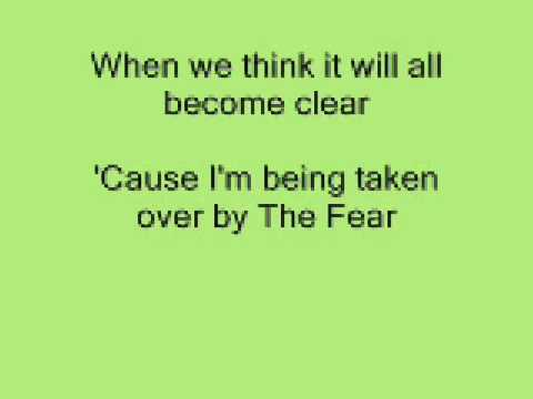 Lily Allen The Fear With Lyrics