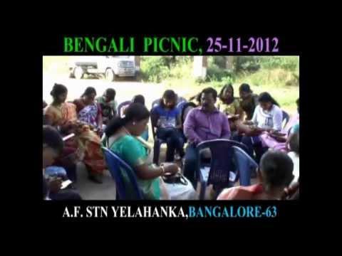 PICNIC  ON ( 25 -11 -2012)  BY BENALI ASSOCIATION  AT AIR FORCE STATION YELAHANKA