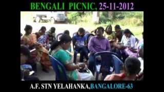 PICNIC  ON ( 25 -11 -2012)  BY BENALI ASSOCIATION  AT AIR FORCE STATION YELAHANKA