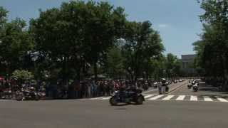 Rolling Thunder 2015 Complete Parade Marine Stf. Sergeant Tim Chambers Featured with Fan Interaction