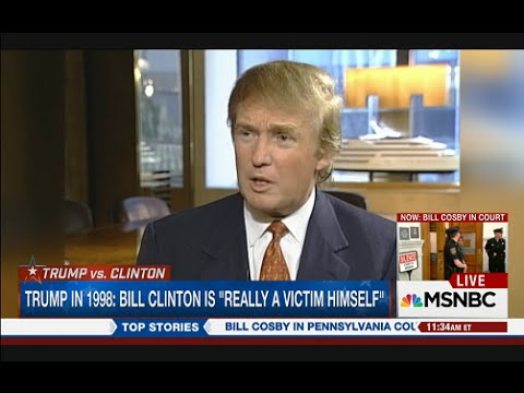 Trump Praises Bill Clinton, Calls Paula Jones A Loser And A Liar