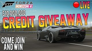 Forza Horizon 4 LIVE - HUGE CREDIT GIVEAWAY & 60M Spending Spree! Come Win!