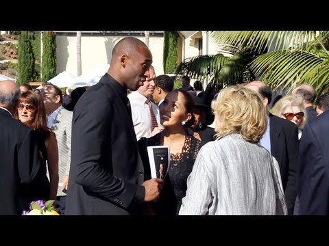 Kobe Bryant, Jerry West, Pat Riley and others come out to remember Bill Sharman HD