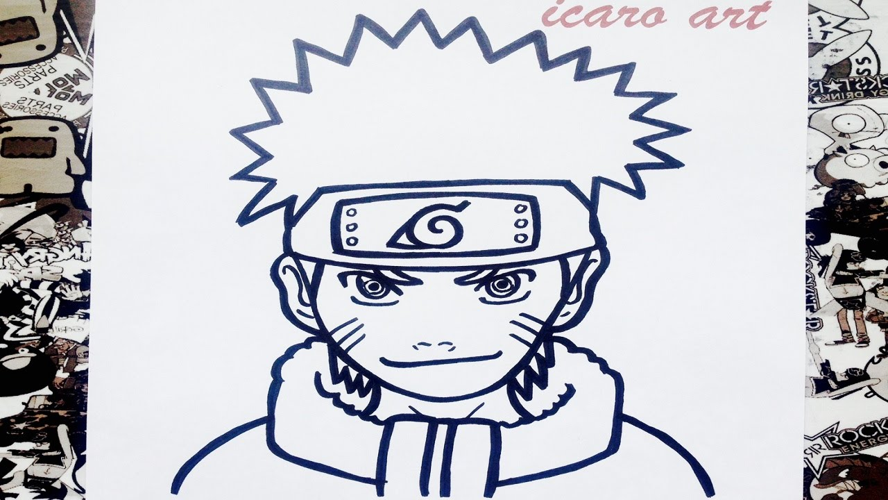 How To Draw Naruto - YouTube