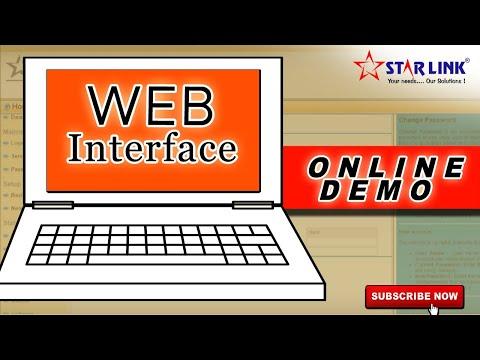 Web Interface - Online Device Management || Remote Management of Biometrics || STAR LINK